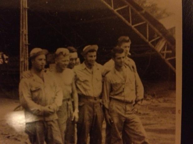 photo dad's war buddies
